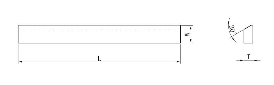 Carbide strips-SE  type